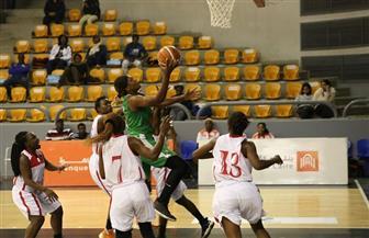 فيروفيارو الموزمبيقي يتأهل لنصف نهائي البطولة الإفريقية سيدات لكرة السلة   صور