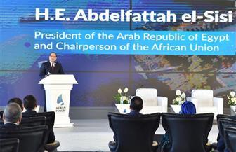 نص كلمة الرئيس السيسي في افتتاح أعمال منتدى أسوان للسلام والتنمية المستدامة | فيديو