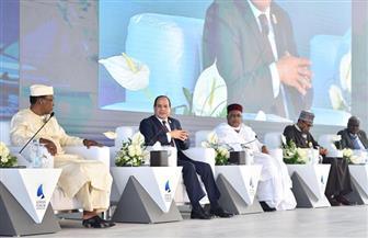 رفع الجلسة الأولى لمنتدى أسوان للسلام والتنمية المستدامة بإفريقيا