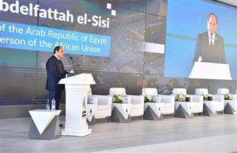 الرئيس السيسي بمنتدى أسوان: حل سلمي شامل للقضية الليبية خلال شهور   فيديو