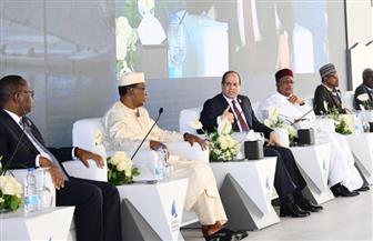 الرئيس السيسي بمنتدى أسوان: مواجهة الإرهاب تتطلب تحركا جماعيا وردع الدول الداعمة له | فيديو