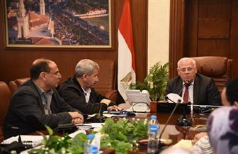 محافظ بورسعيد يترأس اجتماع المخطط الإستراتيجى لمدينة بورفؤاد لعام 2032   صور