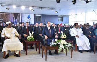 الرئيس السيسي يفتتح اليوم النسخة الأولى لمنتدى أسوان للسلام والتنمية