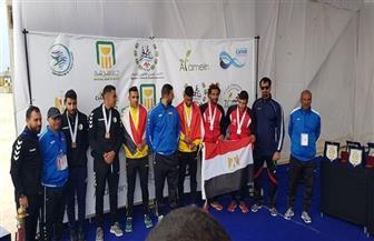 انطلاق منافسات البطولة العربية للكانوي والكياك بمدينة العلمين الجديدة| صور