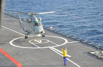 تدريبات للقوات البحرية لفرض السيطرة على المناطق الاقتصادية وتأمين الأهداف الحيوية| صور وفيديو