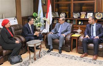 محافظ كفر الشيخ يبحث تدشين مبادرة جديدة لتوعية الشباب ضد المخدرات | صور