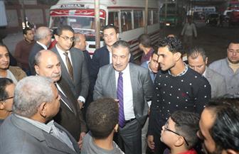 محافظ المنوفية: إجراءات حاسمة لتحسين جودة الخدمات بمدينة الشهداء | صور
