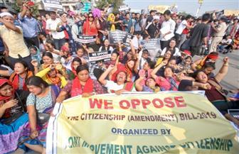 احتجاجات في الهند بسبب قانون المواطنة