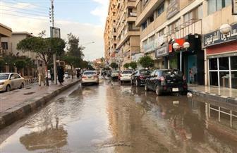 أمطار غزيرة بكفر الشيخ.. وتوقف عمليات الصيد