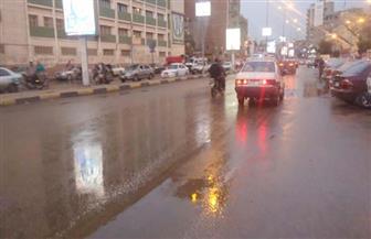 أمطار رعدية غزيرة في الفيوم