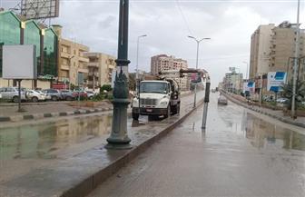 أمطارغزيرة على مراكز الغربية وطوارئ بالأجهزة التنفيذية| صور