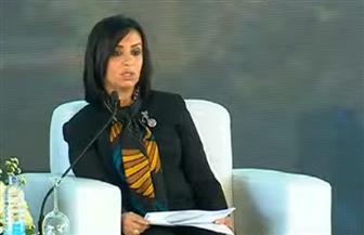مايا مرسي بمنتدى شباب العالم: المرأة المصرية من أقوى السيدات على الأرض لأنهن ينجحن تحت أي ظروف