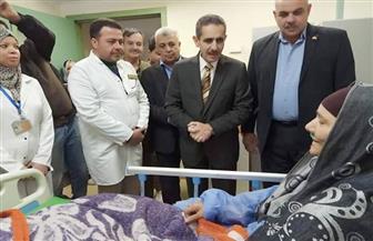 محافظ الغربية يتفقد مستشفى زفتى العام.. ويشدد على تحسين الخدمات الصحية| صور