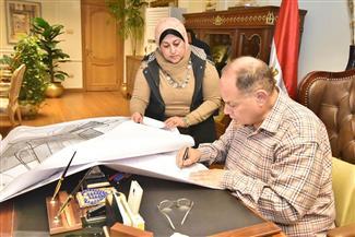 محافظ أسيوط يعتمد لوحات تعديل المخطط الإستراتيجي لطرق مدينة أسيوط