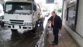 الإسماعيلية تعلن حالة الطوارئ القصوى بعد هطول سيول غزيرة