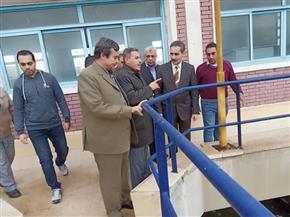 محافظ الغربية يراجع حالة معدات شفط المياه بمدينة زفتى | صور