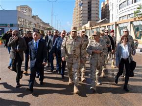 محافظ الإسكندرية يتفقد مشروع بشاير الخير 2 |صور