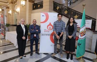 أحمد مجدي يشارك في حملة 16 يوما لمناهضة العنف ضد المرأة بجامعة القاهرة   صور