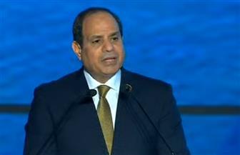 الرئيس السيسي: المشاركة رفيعة المستوى من كافة الدول تعد تعبيرا عن أهمية منتدى أسوان