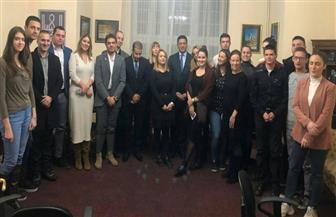 اجتماع تأسيسي لرابطة الشباب بجمعية الصداقة المصرية - الصربية