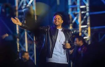 محمد حماقي يشعل حفله الغنائي بموسم الرياض| صور