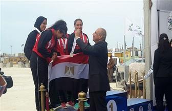 منتخب مصر للكانوي والكياك يحرز لقب البطولة العربية
