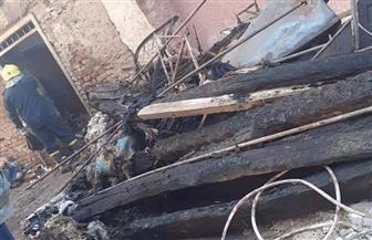 مصرع رجل وزوجته وطفلين في حريق بمدينة أرمنت جنوب غرب الأقصر صور