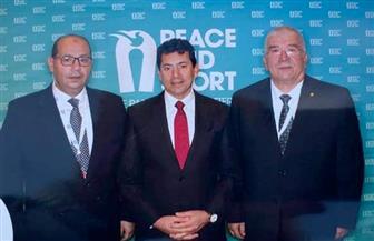 """وزارة الرياضة تختتم مشاركتها بمؤتمر """"السلام والرياضة """" بموناكو"""
