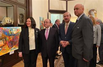 سفارة مصر في براج تقيم معرض ألوان مصر في نسخته التاسعة | صور