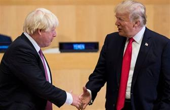 """ترامب يهنئ """"صديقه"""" جونسون بالفوز في الانتخابات البريطانية"""