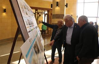 محافظ جنوب سيناء يتفقد فرع  جامعة الملك سلمان بشرم الشيخ | صور