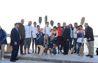 مشاركة متميزة للأوليمبياد الخاص المصري في البطولة الإفريقية للكانوي والكياك