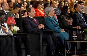 الرئيس السيسي يشهد العروض الفنية والمسرحية لمسرح العالم بشرم الشيخ | صور