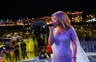 نوال الزغبي تشعل ليالي دبي في حفل غنائي كبير بالإمارات| صور