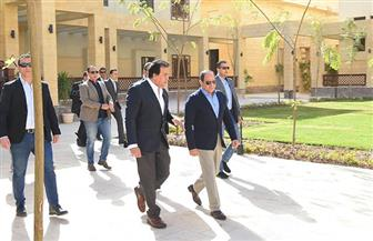 تفاصيل زيارة الرئيس السيسي لفرع جامعة الملك سلمان الدولية بمدينة شرم الشيخ  صور