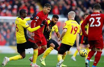 انطلاق مباراة قمة وقاع الدوري الإنجليزي بين ليفربول وواتفورد