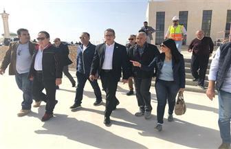 وزير الآثار يتفقد متحف شرم الشيخ على هامش حضورة منتدى شباب العالم| صور