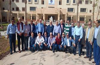 وفد من رؤساء الجامعات المصرية يزور جامعة الملك سلمان الدولية   صور
