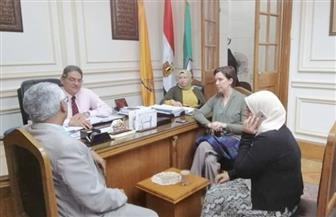 """عميد """"علوم القاهرة"""" يستقبل نائب المدير الإقليمي للأمديست"""