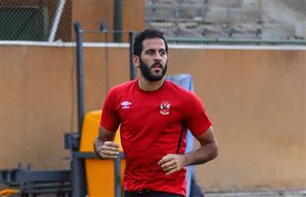 مروان محسن يواصل برنامجه التأهيلي للحاق بمباراة الأهلي وبلاتينيوم