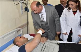 محافظ أسوان: 20  ألف جنيه إعانة لأسر المتوفين في حادث تصادم أبوسمبل | صور