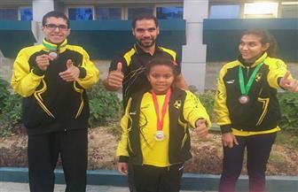 وادي دجلة لألعاب قوى القدرات الخاصة يحصد ميداليات كأس مصر