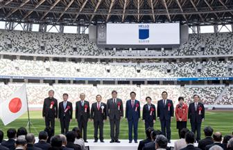 افتتاح الاستاد الوطني في طوكيو.. رمز أولمبياد 2020