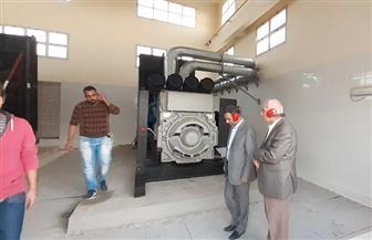 بدء التشغيل التجريبي لمحطة الصرف الصحي بالحي الخامس بمدينة بدر   صور