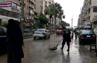 قبل أيام من الفيضة الصغرى.. موجة من الطقس السيئ تضرب الإسكندرية | صور