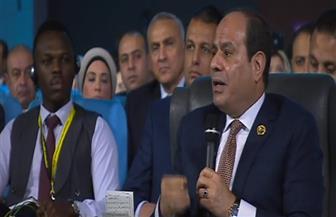 الرئيس السيسي: الشباب العربي أكثر الفئات المستهدفة من جانب التنظيمات الإرهابية