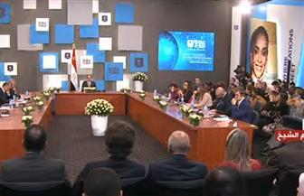 الرئيس السيسي يشهد جلسة سبل تعزيز التعاون بين دول المتوسط في مواجهة التحديات المشتركة