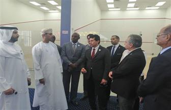 6 وزراء رياضة يتفقدون مدينة الشباب بشرم الشيخ