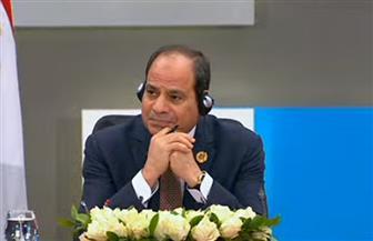الرئيس السيسي يطلب من المشاركين بجلسة دول المتوسط التحدث باستفاضة حول ملف الهجرة