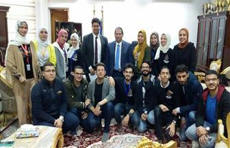 صيدلة بورسعيد تحتفل بتخريج الدفعة الثالثة بإقامة معرض مستحضرات طبية | صور